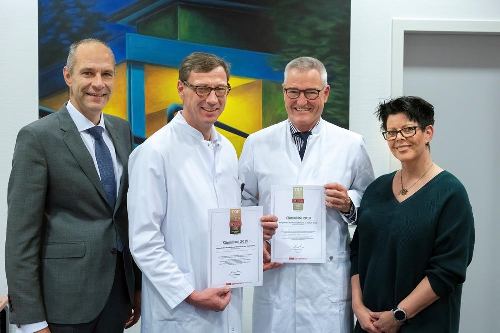 Top Regionales Krankenhaus 2019 Medecon Ruhr