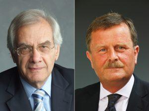 Hermann Stefan Keller (links) und Prof. Dr. Frank Ulrich Montgomery