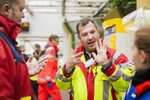 Dr. Hanjo Groetschel Notfall-Übung am 05.09.2015, Essen