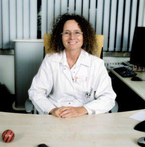 Dr. Svenja Hennigs, Chefärztin der Klinik für interventionelle Radiologie am KK Bottrop.