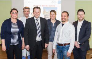 Einblicke in das Marien Hospital Witten – Chefarzt Prof. Dr. Sven Schiermeier und sein Team stellten Medizinischen Fachangestellten die Zentren der Frauenklinik und Geburtshilfe vor.