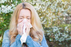 Allergie, Frau, Frhling