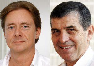 Priv.-Doz. Dr. Sebastian Rütten und Prof. Dr. Georgios Godolias